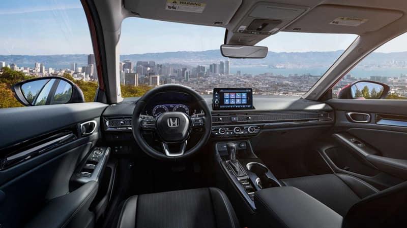 2022 Honda Civic İç Tasarım.