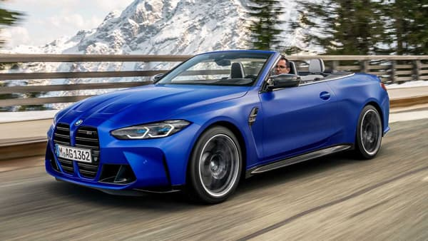Yeni 2022 BMW M4 Competition Convertible M xDrive