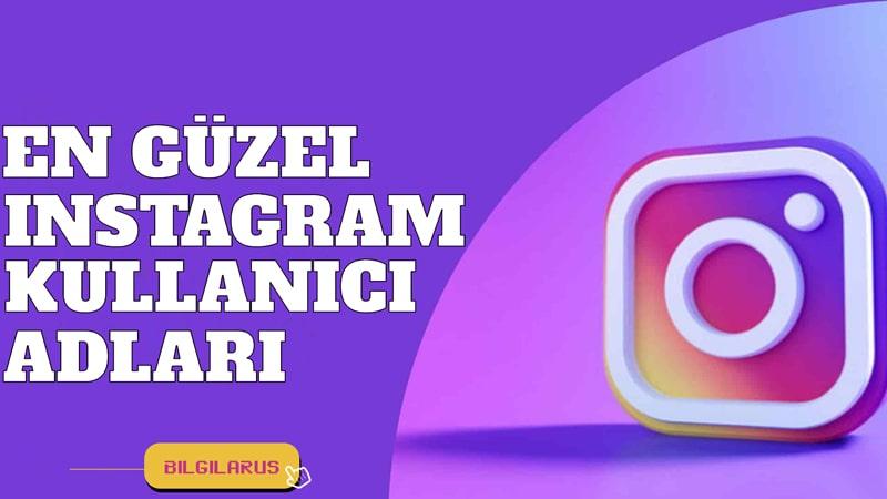 Havalı Instagram Kullanıcı Adları